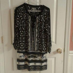 JM collection women's tunic